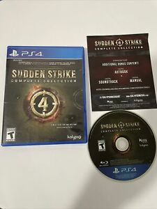 Sudden Strike 4: Complete Collection (Sony PlayStation 4 PS4, 2019)