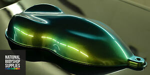 Image Is Loading Chameleon Flip Paint Car Bike Model Rc Caribbean