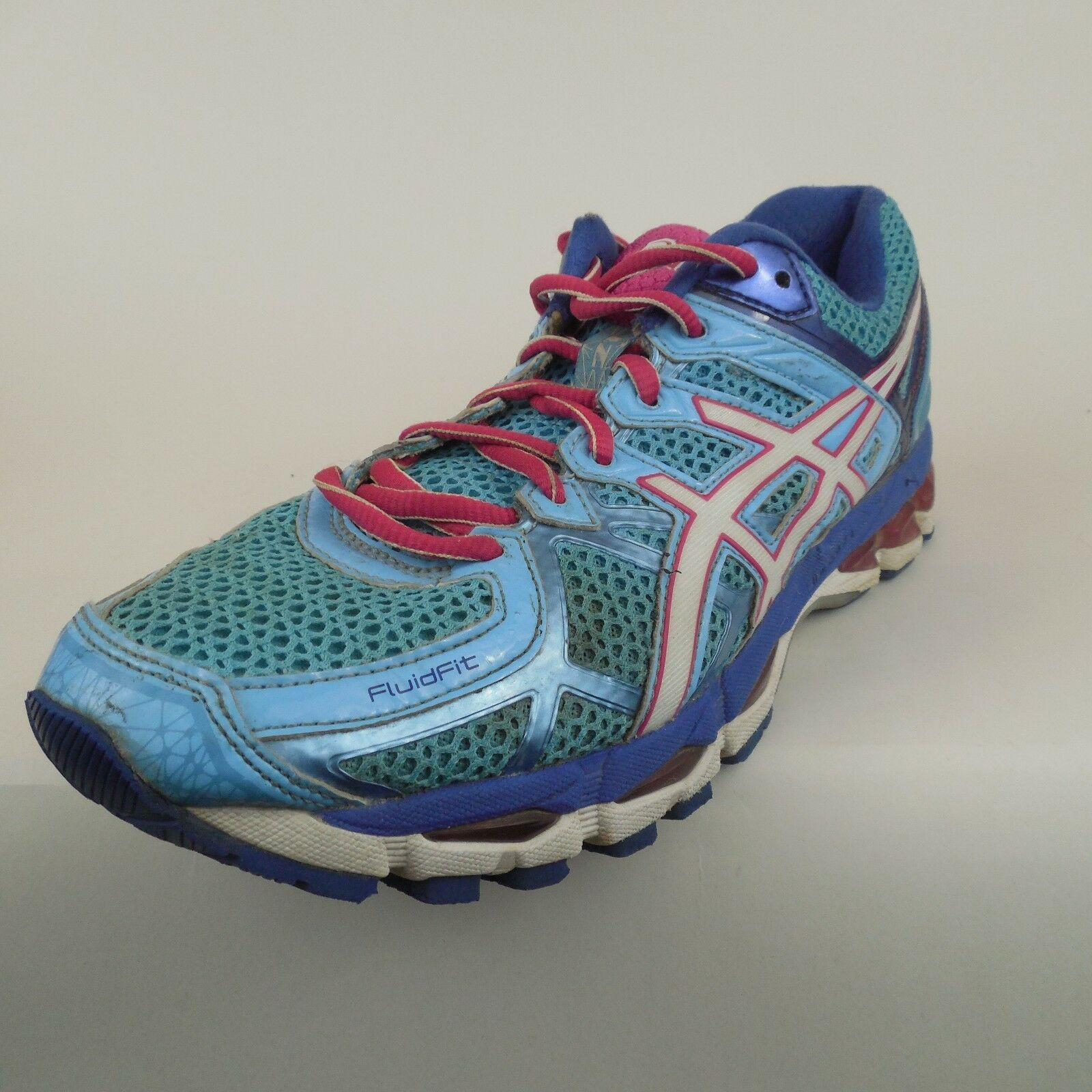 Asics Gel Kayano 21 Women's  shoes Sneakers Trainers T4H7N 4401 US Sz 8.5 M Used