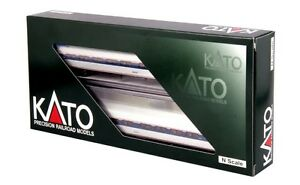 Kato-106-8002-N-Scale-Amtrak-Amfleet-I-Phase-VI-2-Car-Set-A