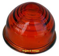 Lucas style L594 orange glass lens