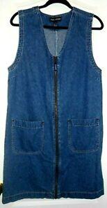 Women-039-s-Gloria-Vanderbilt-Denim-Dress-size-M-Medium