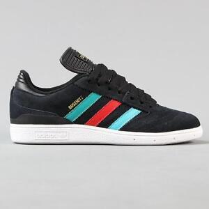 62449677c425c6 ... new zealand image is loading adidas skateboarding busenitz pro suede skate  shoes black 3e0de 187db