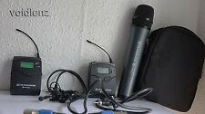 Sennheiser EW100 G2 CH70 UK Legal Wireless Microphone System with Extras