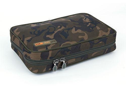 NUOVO Fox CAMOLITE Buzz Buzzer Bar Bag 3 Rod CLU300-Pesca Carpa Bagaglio