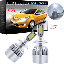 H7 100W COB LED Bulbs Pair Canbus For Vauxhall Opel Astra MK5 H 2004-2009