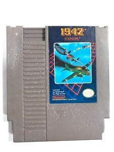 1942 ORIGINAL Nintendo NES Game Tested + Working & Authentic!