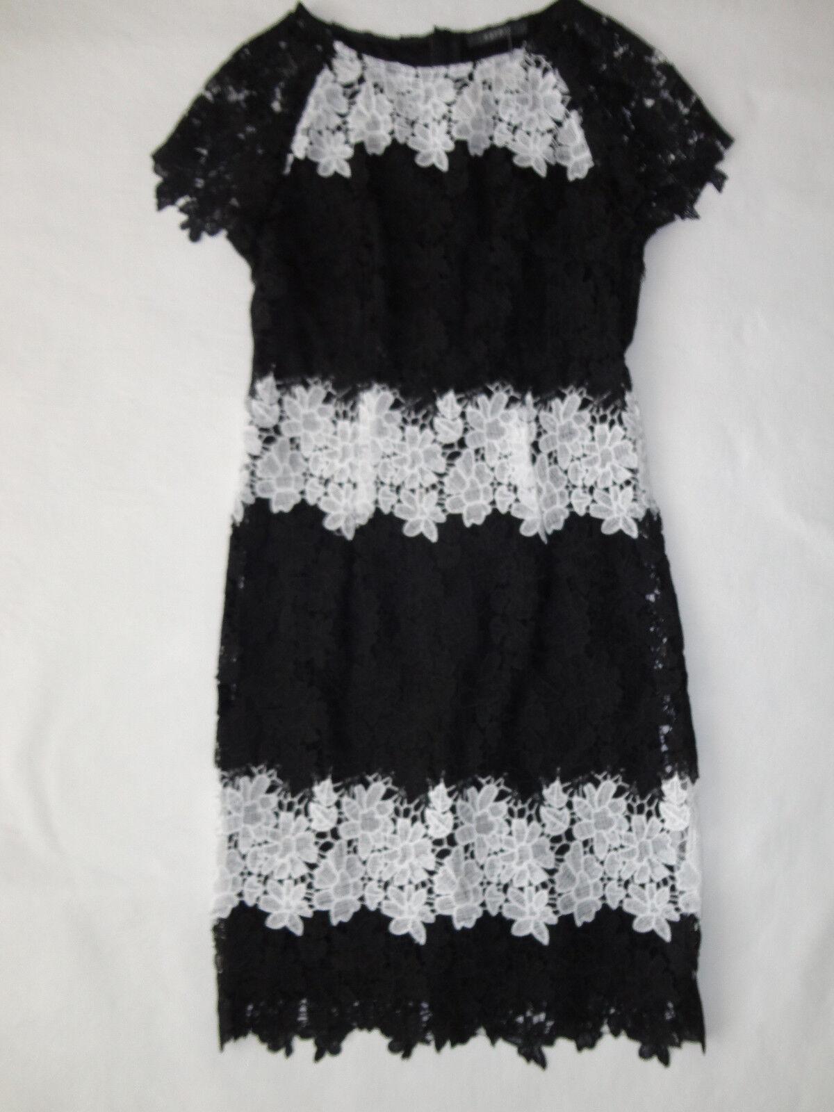 Esprit Collection Sommer Abend Party Spitze Kleid  Gr 36 NEU