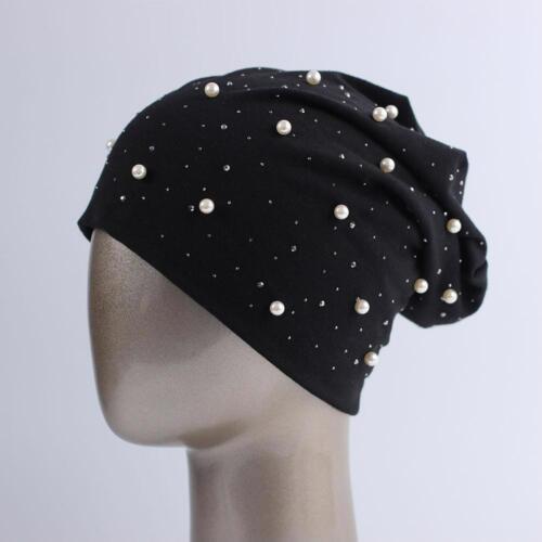 Pearl Hat Unisex Men Women Beanie Hats Unique Design Polyster All Season Fashion