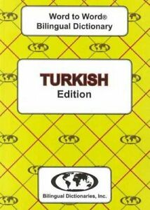 English-Turkish-Turkish-English-Word-to-Word-Dictionary