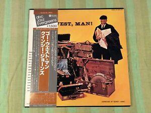 Quincy Jones GO WEST MAN 1978 Vinyl LP YW-8553-AB Near Mint + OBI