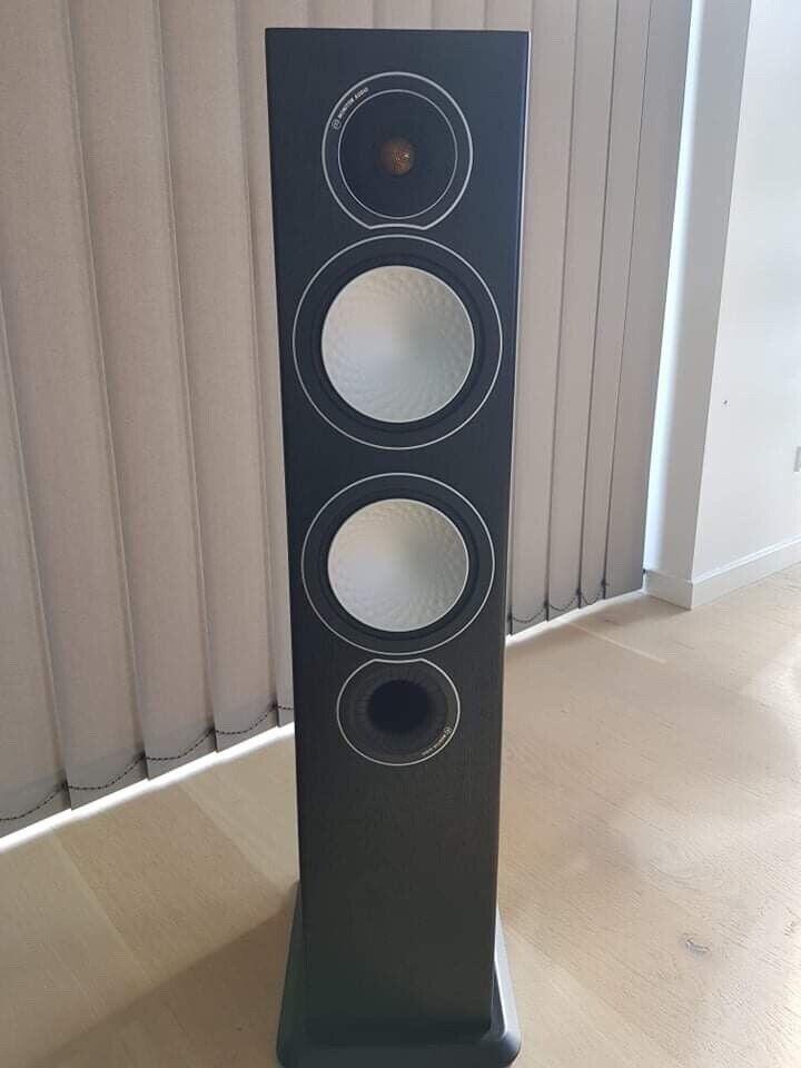 5.1 højttalersæt, Monitor Audio, Silver 6