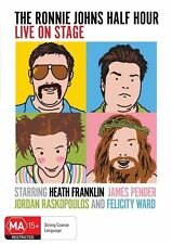 The Ronnie Johns Half Hour - Live On Stage (DVD, 2011) New  Region 4