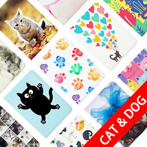 FLIP-LEATHER-TABLET-CASE-FOR-SAMSUNG-GALAXY-TAB-S2-S3-A-7-0-8-0-9-7-10-1-CAT-DOG