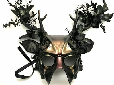 Halloween costume party Deer Masquerade Animal Mask Christmas Gift Art Wall Deco