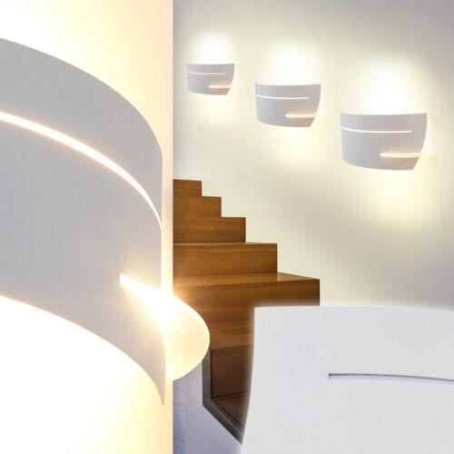 Appliques murales blanc design Couloir Mur Projecteur murale Éclairage de salon chambre lampes verre