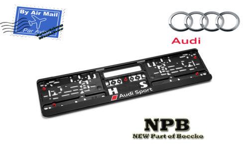 Audi Sport License Plate Frame ✓ The Audi Car
