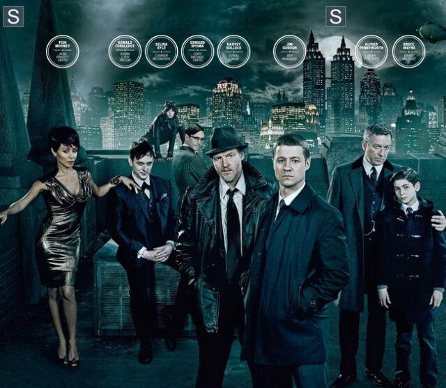 "015 Gotham Crime Drama TV Series Season Show 24/""x36/"" Poster"