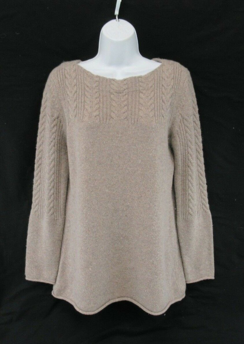 SAKS FIFTH FIFTH FIFTH AVENUE 100% Cashmere Sweater Women's Size M  C835 440fb5