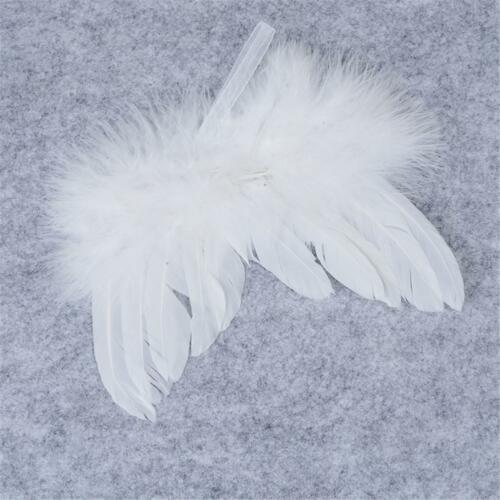 White Feather Hanging Angel Wings Christmas Party Wedding Ornaments Decor PRO