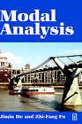 Modal Analysis by Zhi-Fang Fu, Jimin He (Hardback, 2001)
