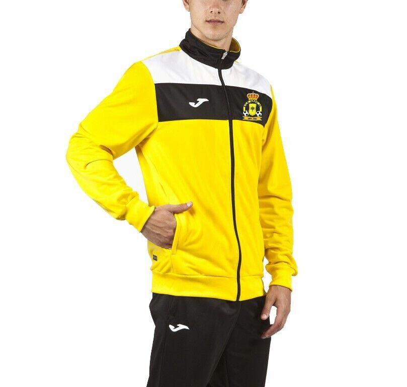 Chandal JOMA amarillo-negro club Aeduja talla 2XS-12