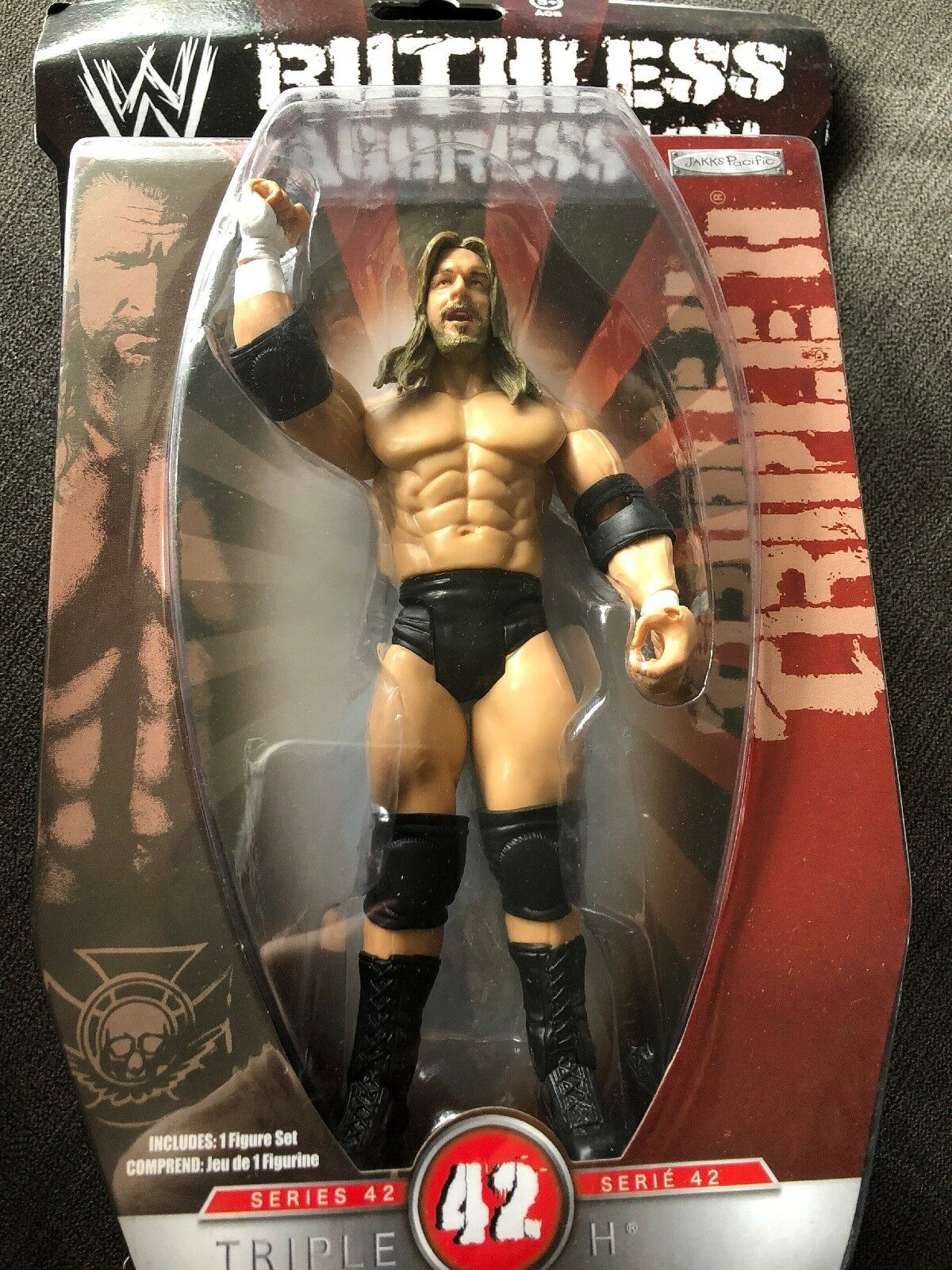WWE Ruthless Agression Wrestling Series 42 Triple H New