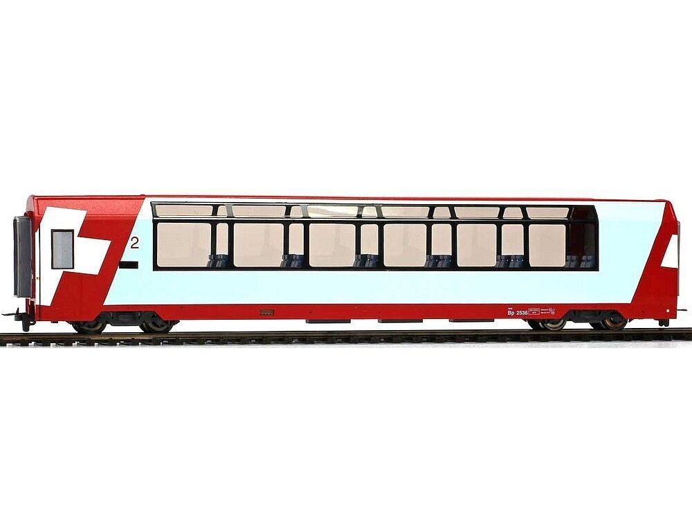 Bemo 3689127 Personengagen Panoramawagen Glacier -Express 2.Kli.RhB H0