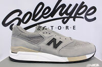 Balance 998 Made In Usa Grey Black Beige Perforated M998dtk Sz 10