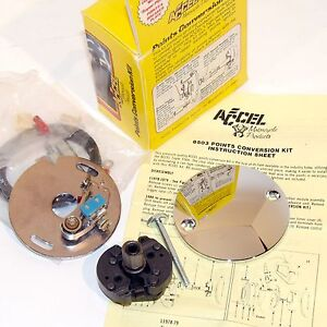Details about ACCEL ELECTRONIC TO POINTS IGNITION CONVERSION KIT HARLEY FL  FX XL 1970-78