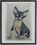 housewarming Devon Rex Cat Print No.719 book lover gifts devon rex cat gifts