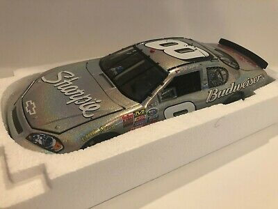 2007 DALE EARNHARDT JR 1//24th SHARPIE MESMA DIECAST CAR BUDWEISER CHEVY RACING