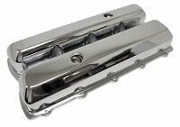 Steel Chrome Tall Valve Covers Fits 1964-80 Oldsmobile 330 350 400 425 455 V8