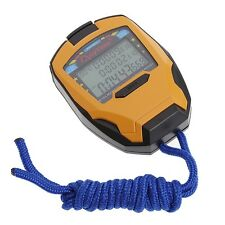 Stopwatch Digital LCD Running Sport Timer Counter Chronograph Stop Watch Alarm