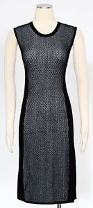 BCBGeneration-Black-Combo-Dress-Size-L-Casual-Sweater-Women-039-s-New