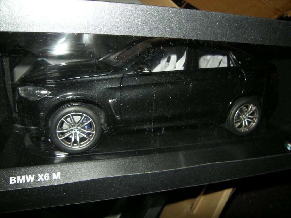 1 18 Paragon bmw x6 m nero Sapphire nº 80432364887 en OVP