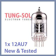 1x NEW Tung Sol 12AU7 Reissue TungSol Vacuum Tube 12AU7W 6189 ECC82 TESTED