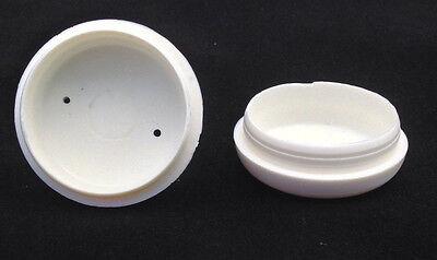 "1 1//2/"" plastic furniture feet cap glides for wrought iron #614 Quantity 16"