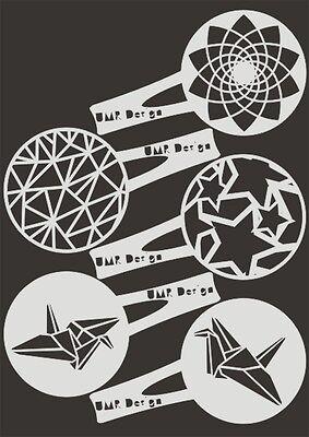 Keksschablone Kaffee Barista TK-006 Spielkarten ~ cookie stencil ~ UMR-Design