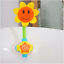 Bebe-bano-juguete-ninos-GIRASOL-Spray-ducha-de-agua-grifo-de-la-banera-ninos-bano-Edu miniatura 4
