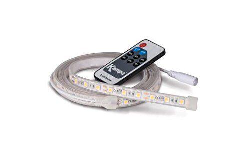 Sabrelink Flex 240V rojo 12v 45 Flexible LED Carpa Tienda Tira Luces Sabre Link