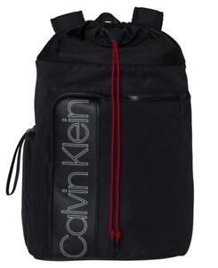 economico per lo sconto 15c36 a05a5 Dettagli su Zainetto-backpack CALVIN KLEIN - K50K503894 - Double Logo  Fashion 001