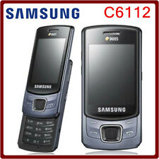 ORIGINAL Samsung C6112 Dual SIM Black 100% UNLOCKED Mobile Phone Warranty FREE 9