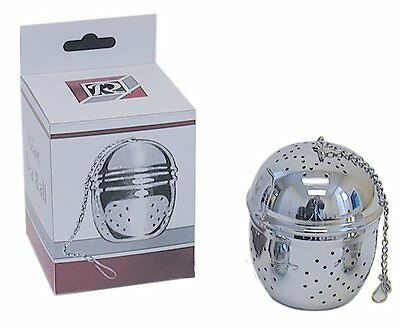 Chrome Plated Brass Giant Tea Ball Infuser