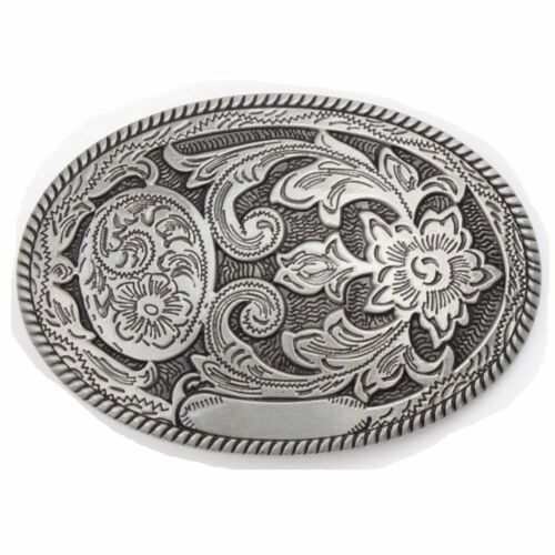 Vintage Flower Tattoo Men/'s Belt Buckle Western Cowboy Native American TT-03-S