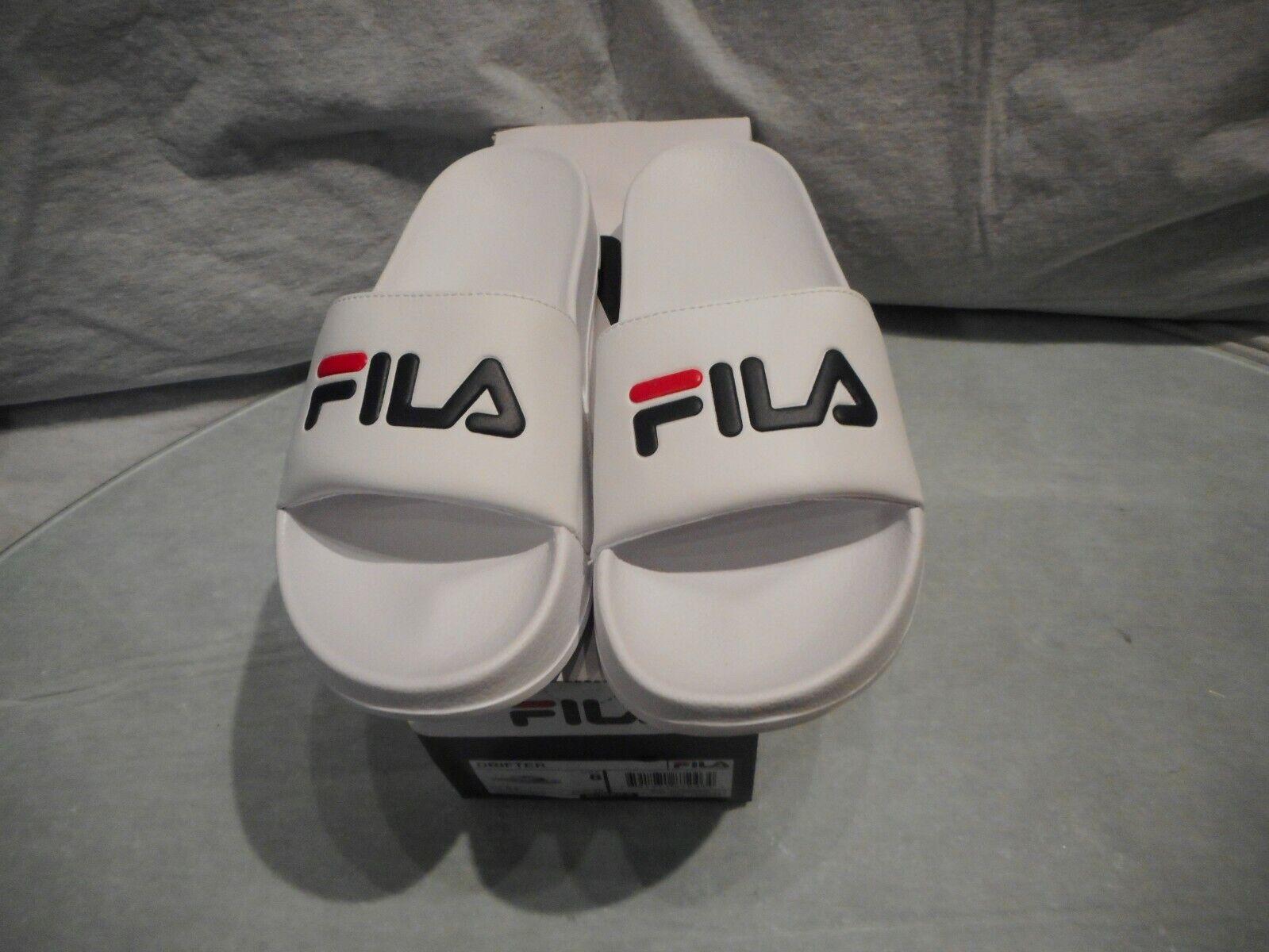 N con B Fila blancoo Multi Color Drifter Zapatillas Tamaño 8