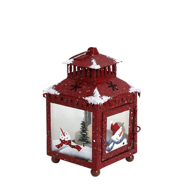 Snowman plates collection on ebay metal candle holder lantern with hand painted christmas snowman decorations keyboard keysfo Images