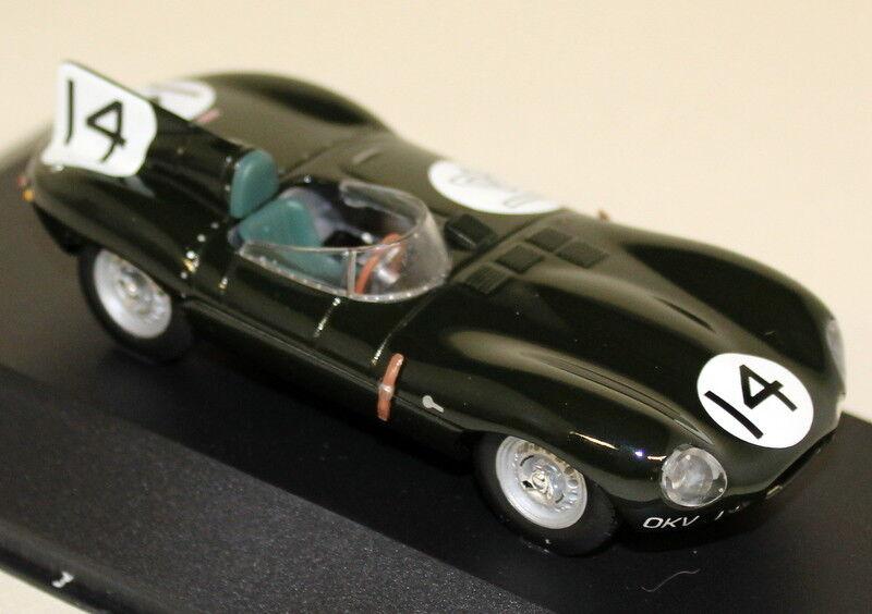 QUARTZO 1 43 échelle QLM021 Jaguar D Type Le Mans 1954  14 Rolt Diecast Voiture Modèle