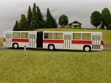 Brekina 59701 Ikarus 280 Gelenkbus weiss H0 rot