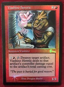 VIASHINO HERETIC Urza/'s Legacy MTG Red Creature — Viashino Unc